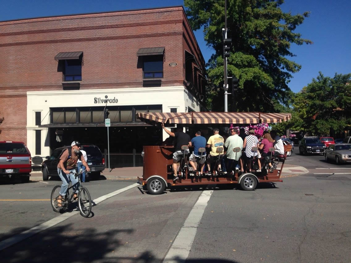 Cycle Pub in Downtown Bend